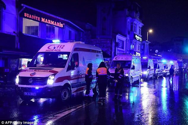 Des ambulances étaient sur les lieux à quelques minutes de l'attaque, qui a fait 35 morts et a laissé 40 blessés