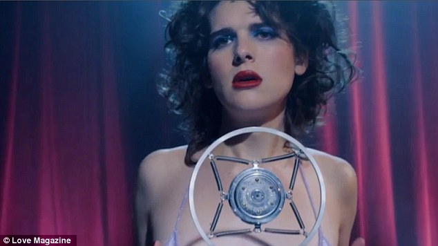 Fans were given an extra treat to start off January 2017, with Love magazine releasing a video of Hari Nef giving a sexy performance of Blue Velvet