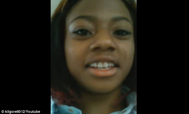 Brittany Herring filmed the ordeal on her phone and posted it to Facebook Live
