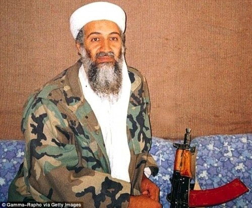 Key figure: The 59 are all linked to Osama bin Laden, the al Qaeda leader who some knew personally and swore loyalty to