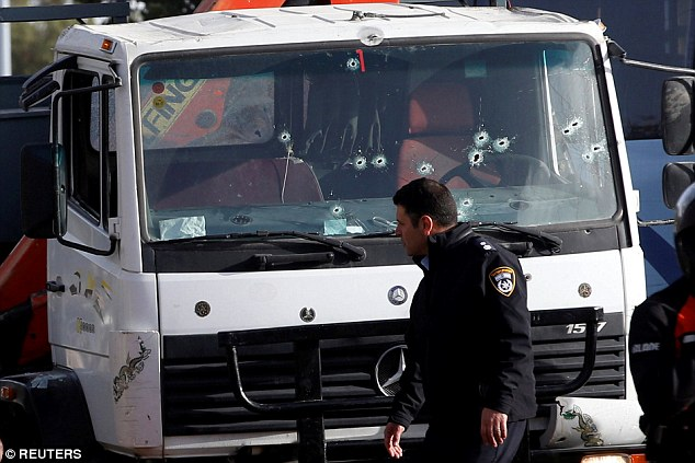 The killer reversed his truck over the soldiers to ensure he killed as many as possible