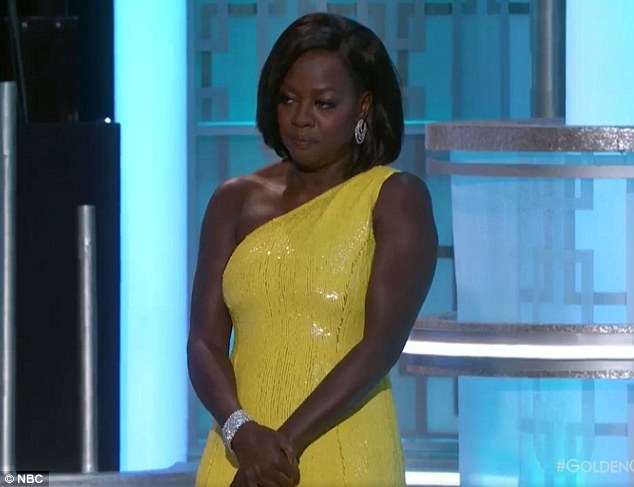 Streep noted Viola Davis - who introduced Streep for the award - was born in a sharecroppers cabin in South Carolina before being raised in Central Falls, Rhode Island
