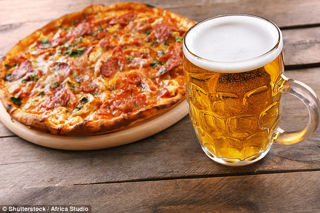 Ditching the pizza and curbing your alcohol intake are two of Dr Xand's three golden rules for losing weight