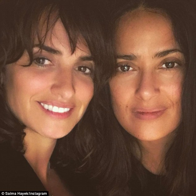 'Good #friends are forever!'Spanish-speaking duo Penélope Cruz and Salma Hayek celebrated their long-standing friendship on Tuesday by posing for selfies together