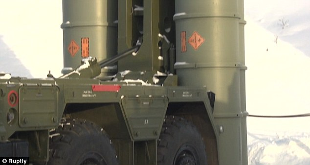 The s-400 air defence system has been providing air cover in Syria since November 2016