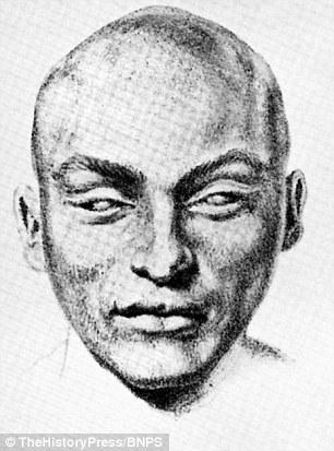 Un dibujo de Francois Courvosier, hecha después de su ejecución por asesinato en 1840. El criado caballero suizo es sospechoso de una matanza en Londres 50 años antes de que Jack el Destripador