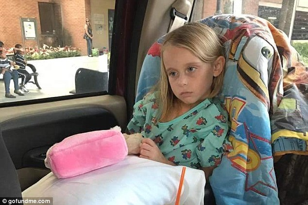 Girls headache turned out to be aggressive brain cancer
