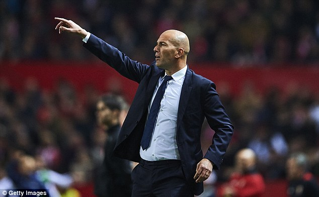 Real manager Zinedine Zidane was also unhappy about the Sevilla fans' abuse of Ramos