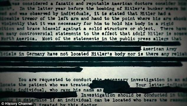 Prueba clara: Baer cuestiona la falta de pruebas con respecto a los restos de Hitler y Braun