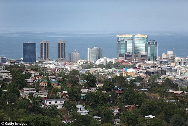 In February 2015, an ICE employee was suspended for defecating in a hotel hallway during an official trip to Port of Spain (pictured) in Trinidad and Tobago