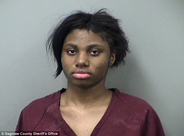 Rape suspect:Lestina Marie Smith, 17, of Michigan, is facing felony charges for allegedly forcing a 19-year-old man to have sex with her at knifepoint