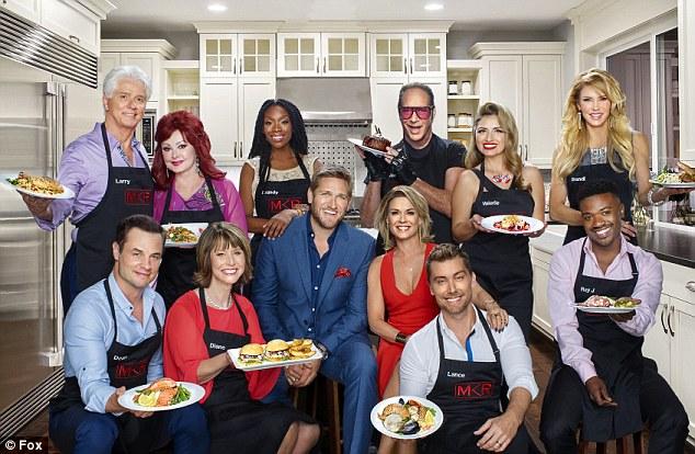 Brandi Glanville had fling with My Kitchen Rules' Cat Cora