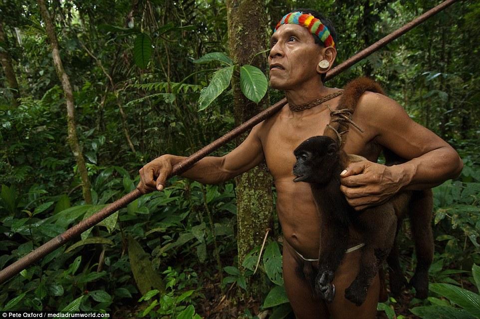 Life among the monkey hunters