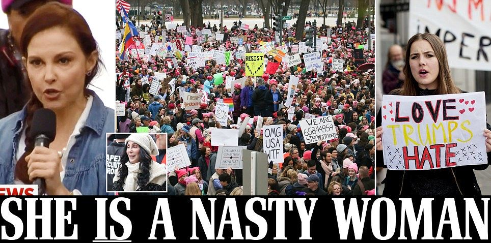 Women's March on Washington brings thousands of protesters