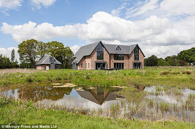 Manchester City star Raheem Sterling has stumped up £3.1million for a new family home