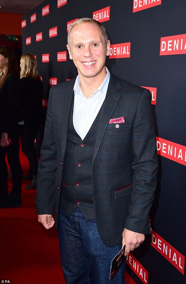Timothy Spall And Andrew Scott Arrive At Denial Screening