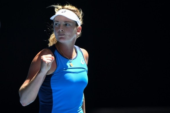 Image result for Basketball's loss was American tennis's gain, as the 6-foot-1 Vandeweghe has made clear with her booming serve and groundstrokes over the last two rounds in Melbourne.