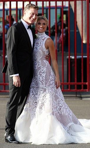 The Wiggles Emma Watkins Stuns At Simon Pryces Wedding