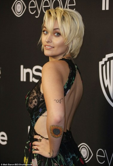Paris Jackson arrives for thr InStyle and Warner Bros Golden Globes After Party in Los Angeles