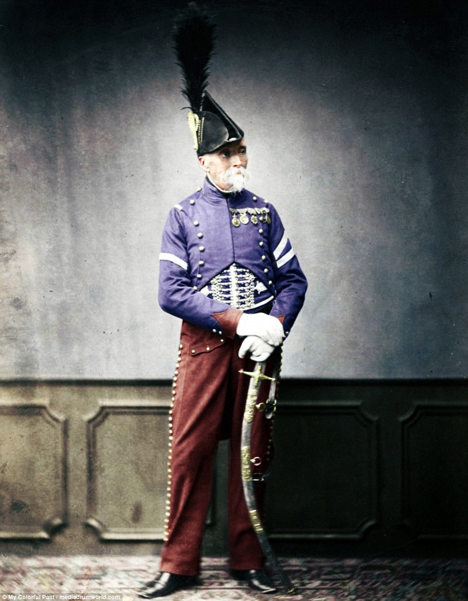 Napoleons Troops Captured In Remastered Pictures Daily