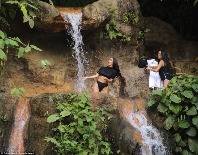 Not so fun: Sure, the Kardashians get flown off to exotic locales, but those luxury trips are working holidays