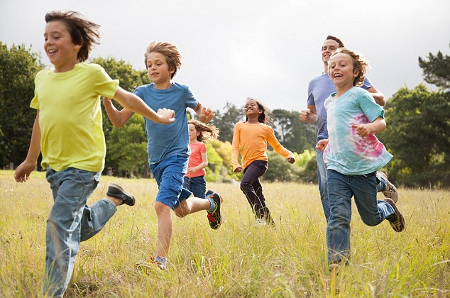 Investment: Children who break a sweat are less susceptible to depression in adulthood