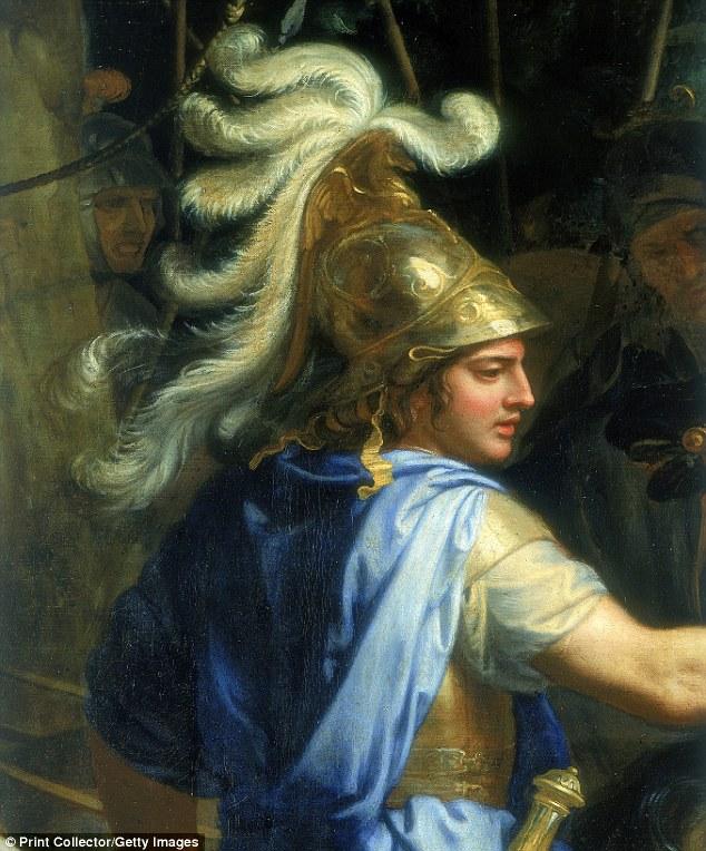 La última voluntad y testamento despedido a largo divulga los planes de Alexander (en la foto) para el futuro del imperio griego-persa gobernaba