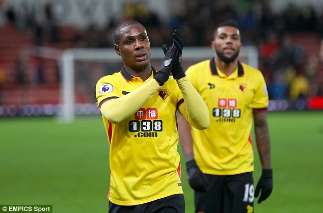 Odion Ighalo has passed his medical ahead of his proposed move to Changchun Yatai
