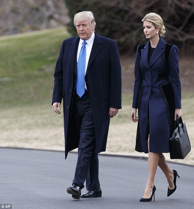 The First Lady is in New York until at least June, leaving Ivanka to fill the role
