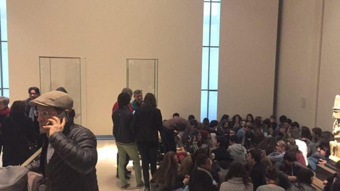 Young children were among those inside the Louvre when the 'serious' security incident happened