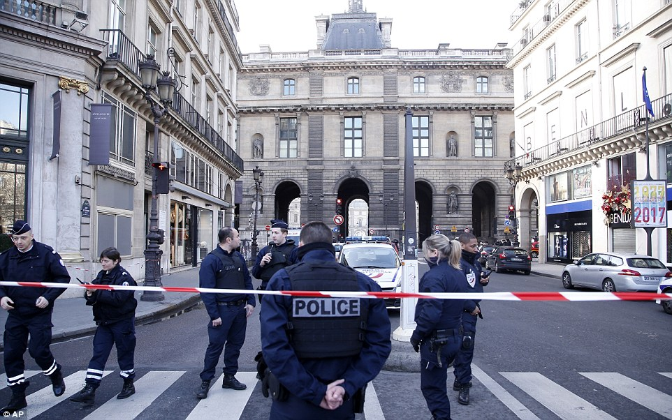 This morning's attack has been branded a 'serious security incident' by the French Interior ministry
