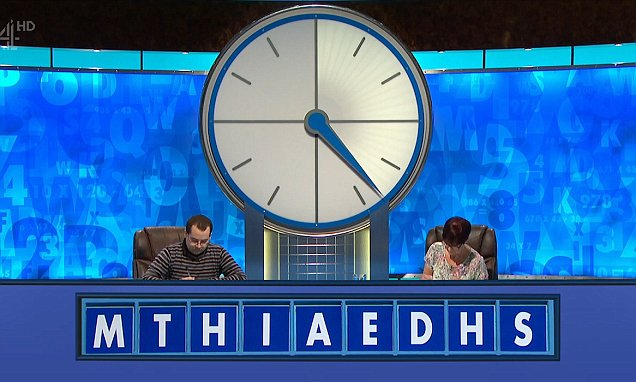 Susie Dent Finds Rude Word In Countdown Letters Daily