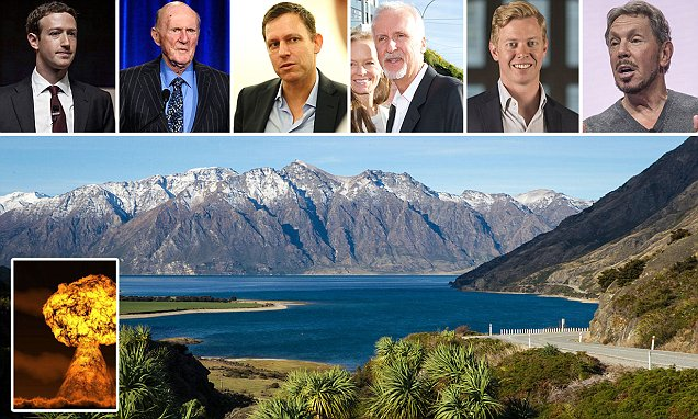 Tech billionaires are building boltholes in New Zealand