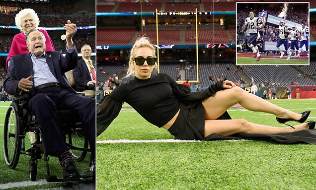 Super Bowl em Houston para Brady e Lady Gaga