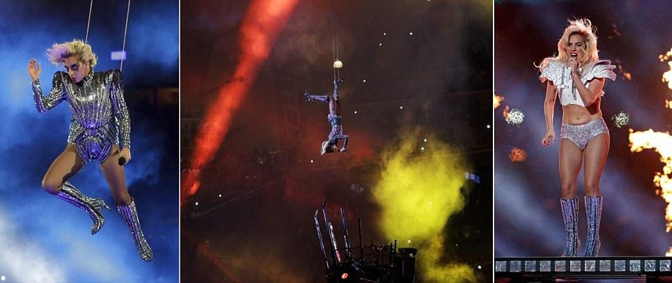 Lady Gaga wows no Super Bowl 51 show do intervalo