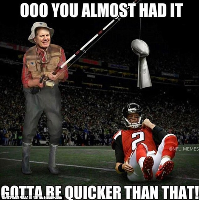 Memes Poke Fun At Atlanta Falcons' Super Bowl Choke