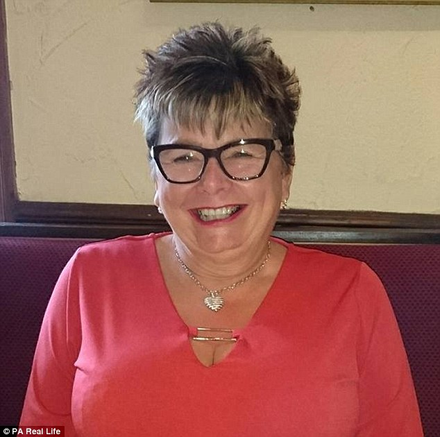 Vivienne Swain, 60, has mesothelioma – a form of cancer that affects the lining of the lungs and is often linked to asbestos exposure