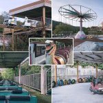 The Creepy Abandoned South Korean Theme Park Daily Mail Online