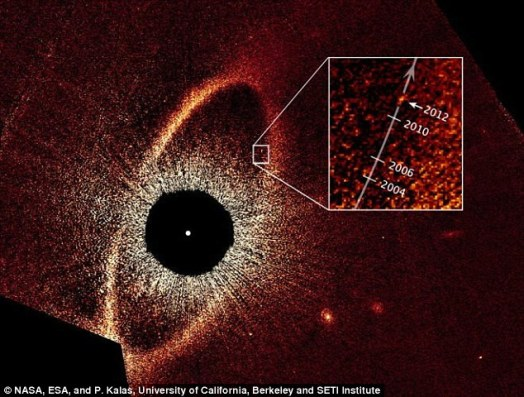 At the time scientists first imaged the HR 8799 planets, a separate team also announced the direct imaging of a planet orbiting the star Fomalhaut