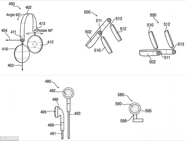 Apple's patent shows headphones that turn into speakers
