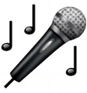A microphone can be used to mean ejaculation