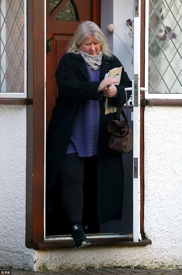 Angry: Kirsten Farage was described as 'very angry' when she accosted Godfrey Bloom four years ago. Last week, she said she and her husband had lived separate lives 'for years' and he had moved out of the family home last year