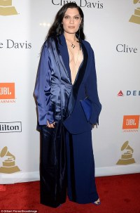 Jessie J wows at Grammy party | Daily Mail Online