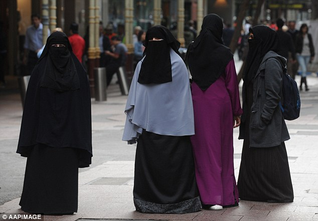 The fines could be handed out to witnesses or members of the public for refusing to stand, yelling or protesting in court - including Muslim women wearing a burqa or niqab