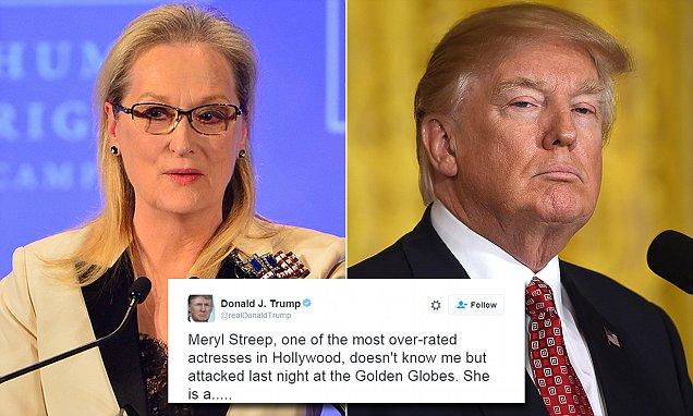 Meryl Streep doubles down on Donald Trump criticism
