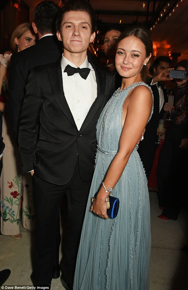 tom holland and ella