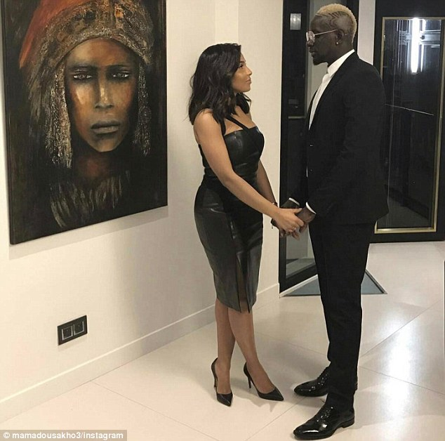 Mamadou Sakho, on loan at Crystal Palace from Liverpool, paid tribute to his wife Madja