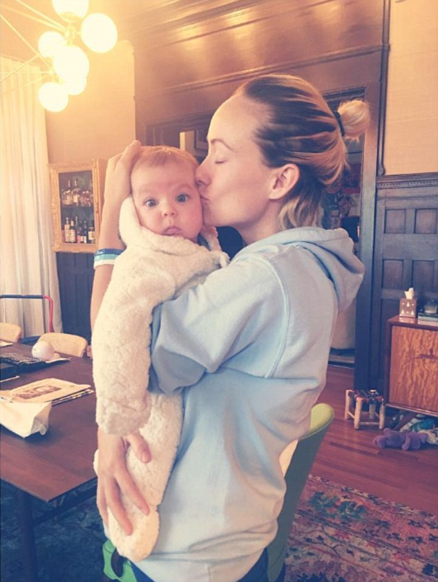 Olivia Wilde Shares Valentines Pics Of Kids And Fiance
