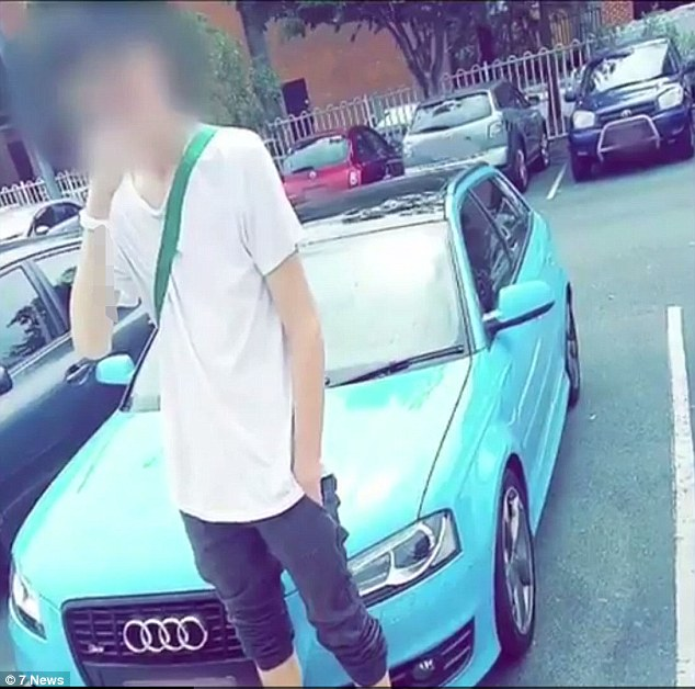 brisbane teenage car thieves