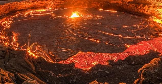 A huge well of molten carbon that would spell disaster for the planet if released has been found under the US (stock image)